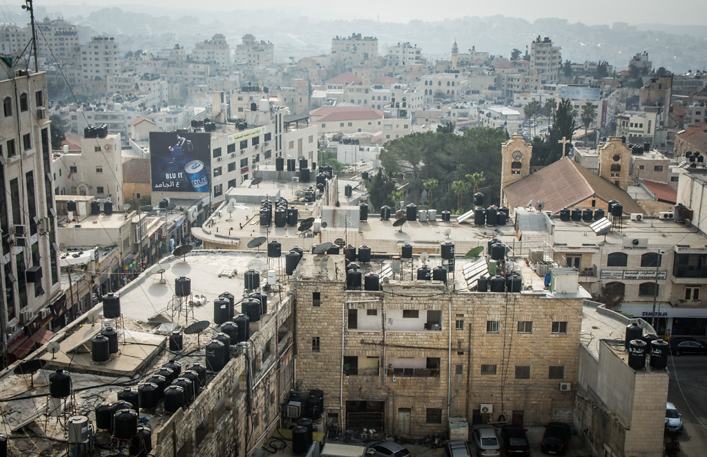 Ramallah from a Rooftop
