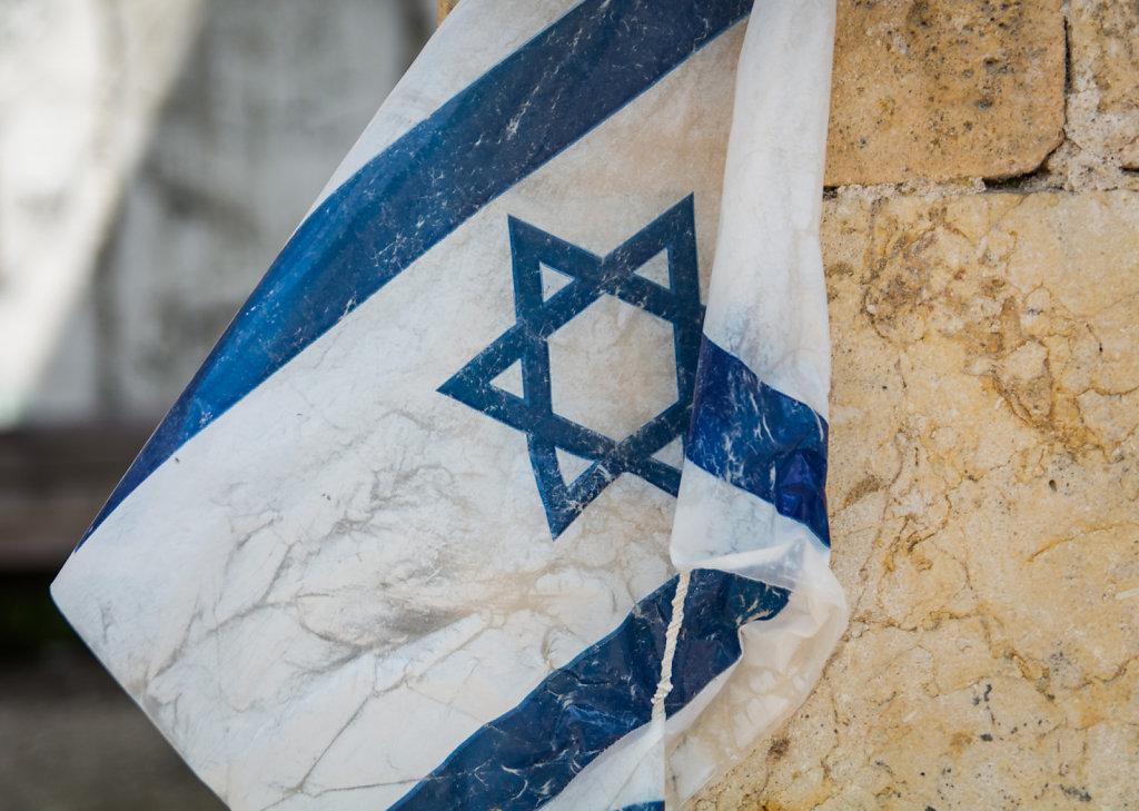 Israeli Flag in Hebron