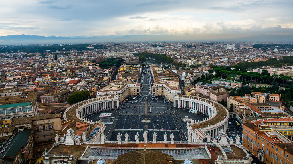 View from the Top of St. Peter