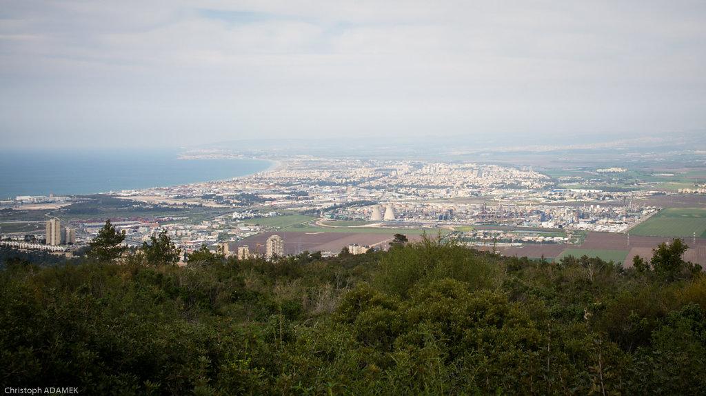 Haifa and the bay