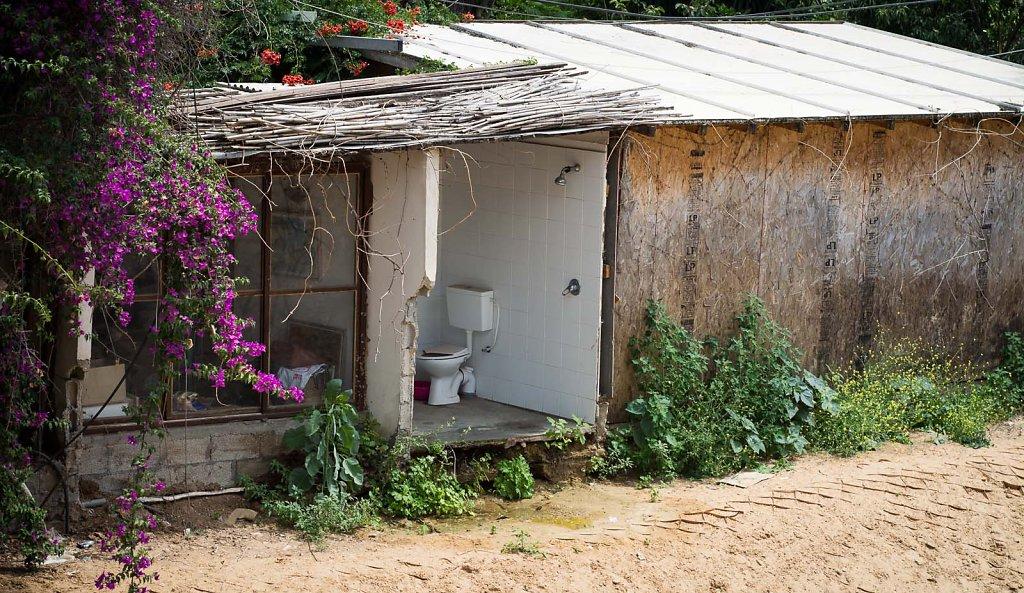 Airy toilet